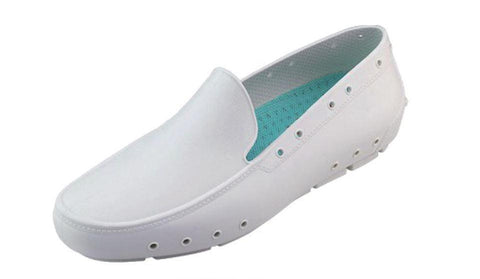 Lea Moccasins Professional Shoes Green for Spa, Welness, Dental, Nurse. Medical, Pharmacy - STYLEMONARCHY