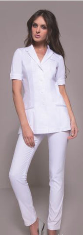 SEATTLE Tunic (White) by STYLEMONARCHY. For Spas - Beauty - Medical