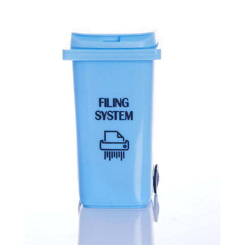 Filing System Novelty Desk Wheelie Bin