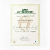 Gift Republic Adopt a Monkey
