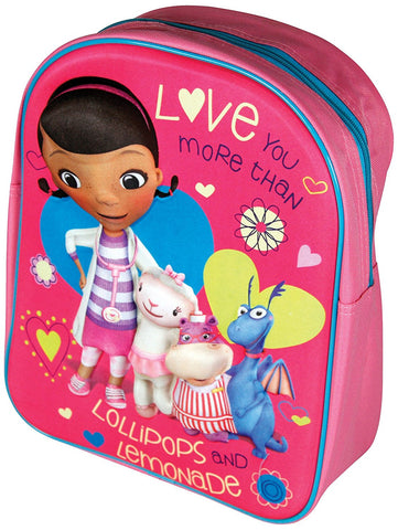 Disney Doc McStuffins 3D Junior Backpack