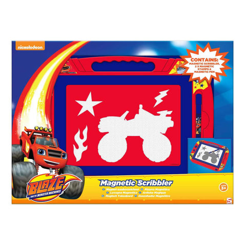 Blaze And The Monster Machines Large Magnetic Scribbler