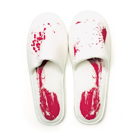 Blood Bath Slippers