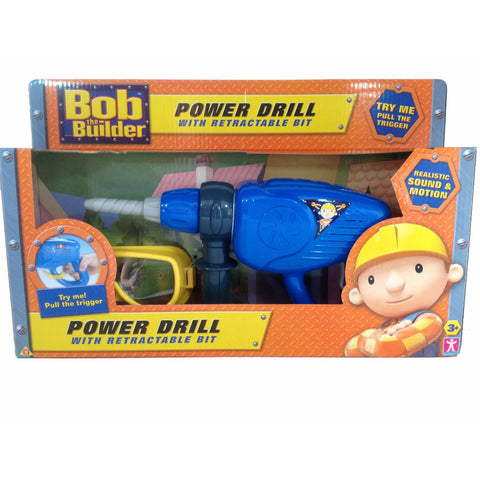 Character Bob The Builder Electronic Power Drill With Sound