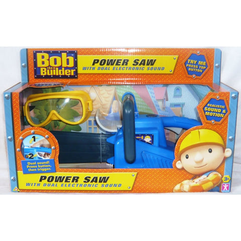 Character Bob The Builder Electronic Power Saw With Sound