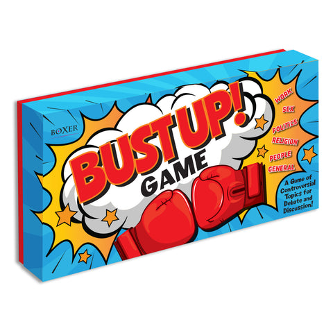 Boxer Bust-Up After Dinner Party Game