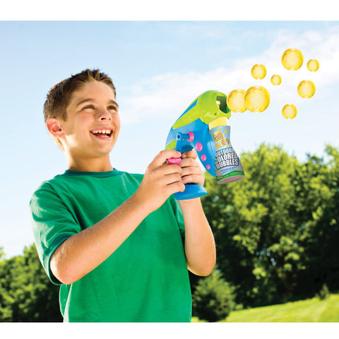 Crayola Coloured Bubble Launcher Gun
