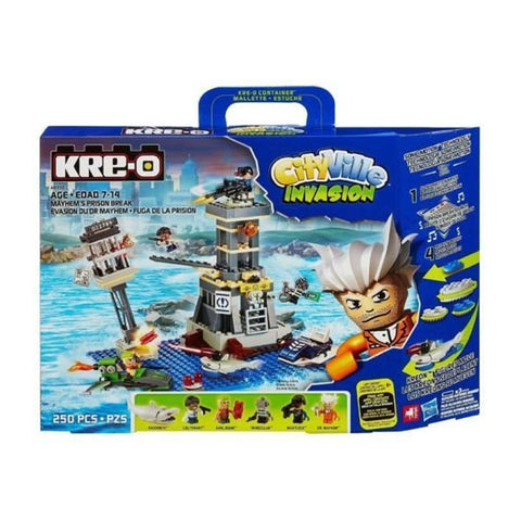 Character Kre-O CityVille Invasion Mayhem's Prison Break 250 Piece Playset