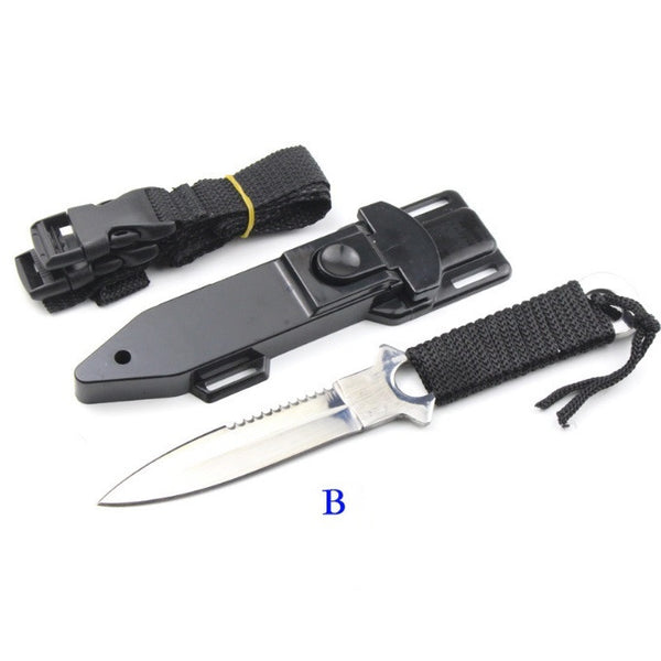 Diving Hunting Camping Outdoor Knife - Tea Palette