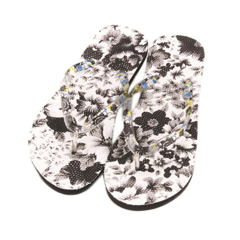Stylish Summer Beach Flip Flop - Tea Palette