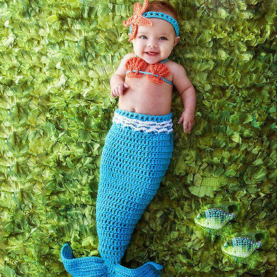 Baby Mermaid Outfits - Tea Palette