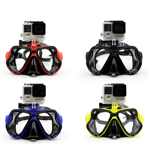 GoPro Mount Scuba Diving Mask - Tea Palette