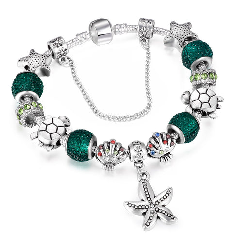 Sea Star Charm Bracelet (All New 2018) - Tea Palette