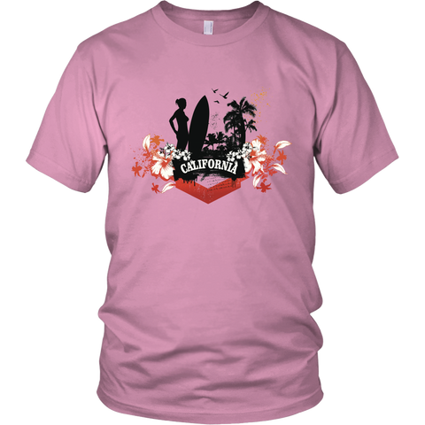 California Girl Unisex T-Shirt - Tea Palette