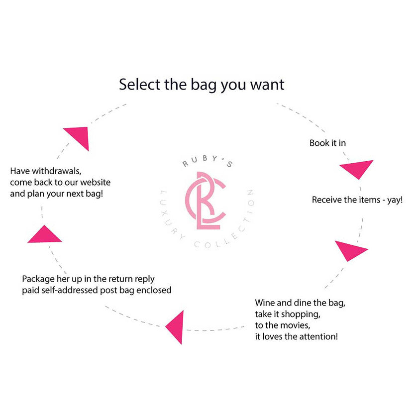 17297884e5f Rubys Luxury Collection Bag Hire   Dress Hire - rent them all!