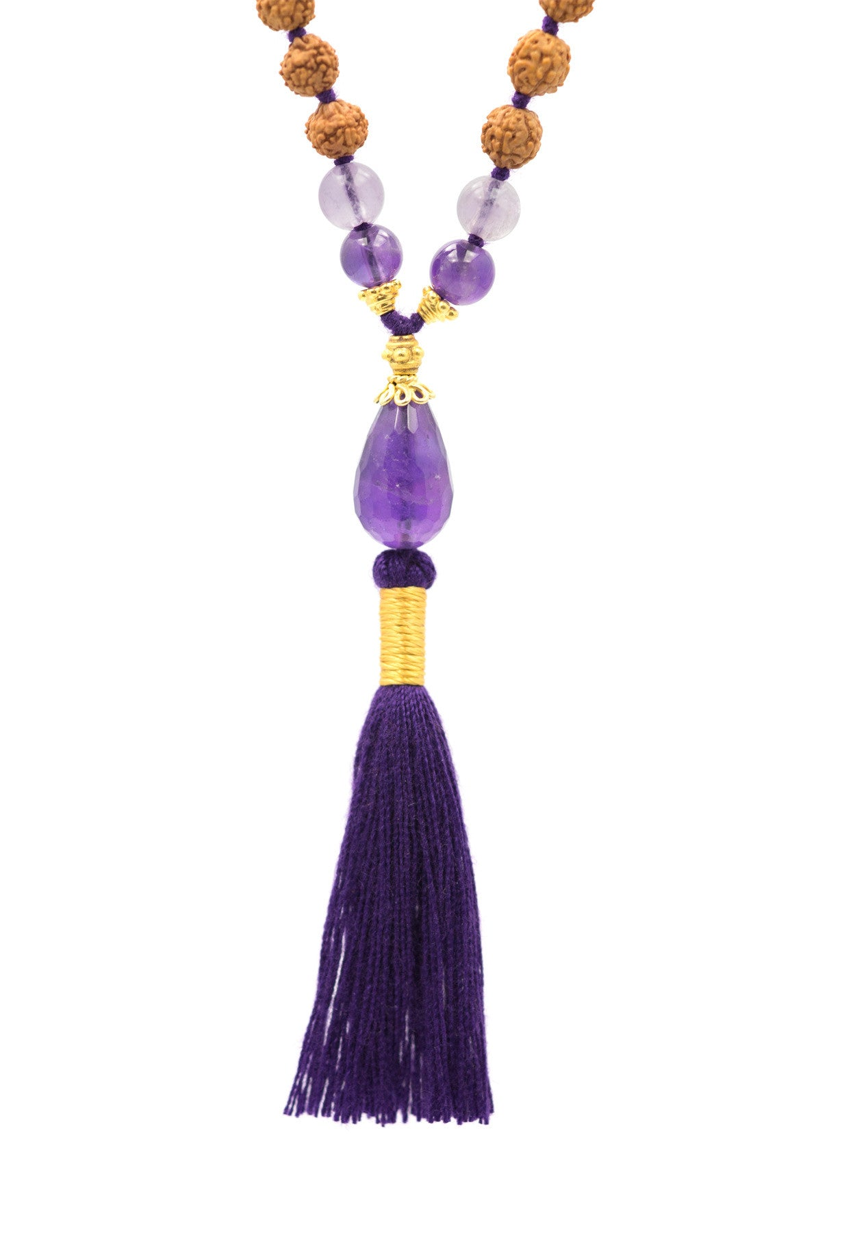 The Third Eye Chakra Mala