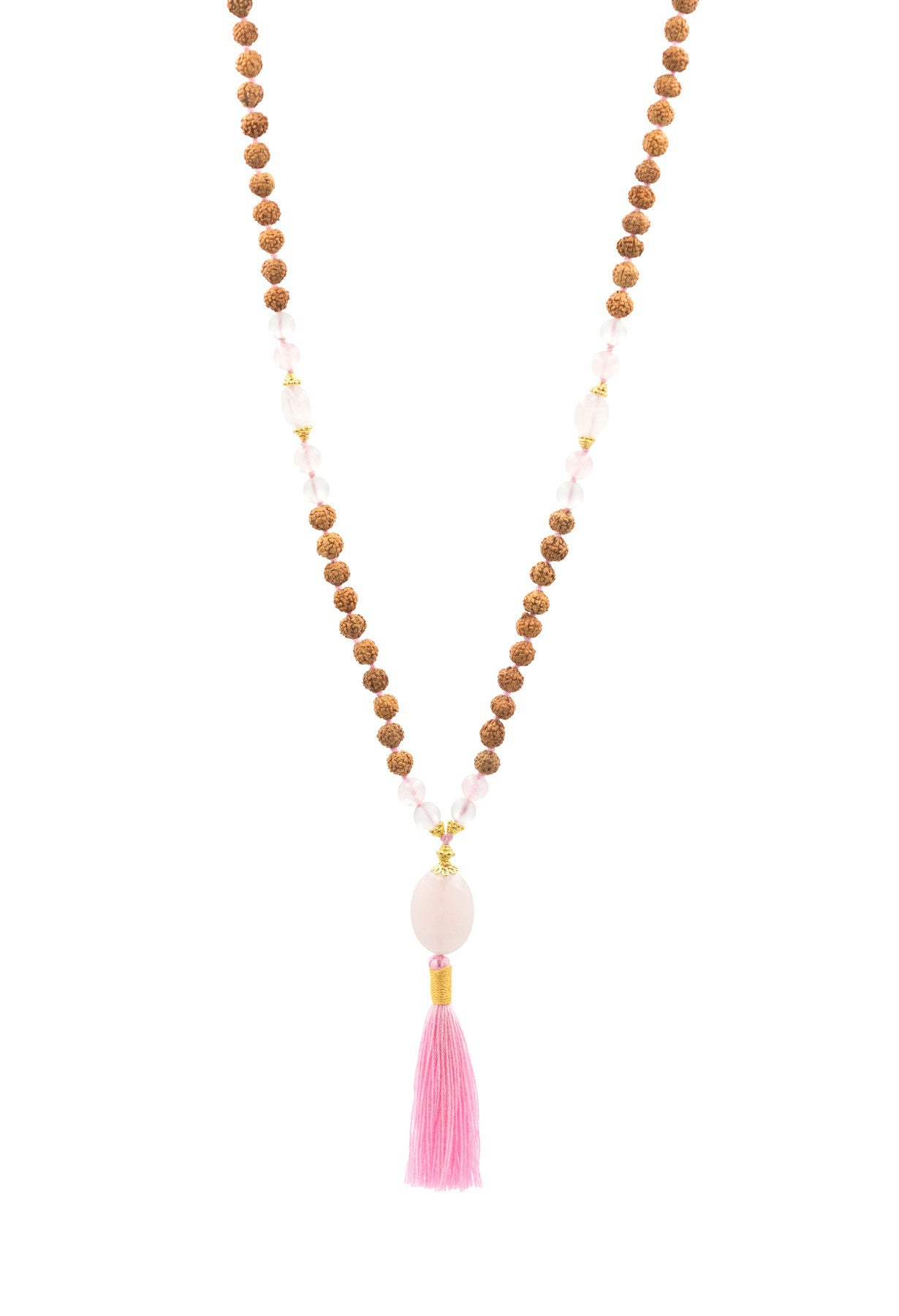 The Crown Chakra For Her Mala