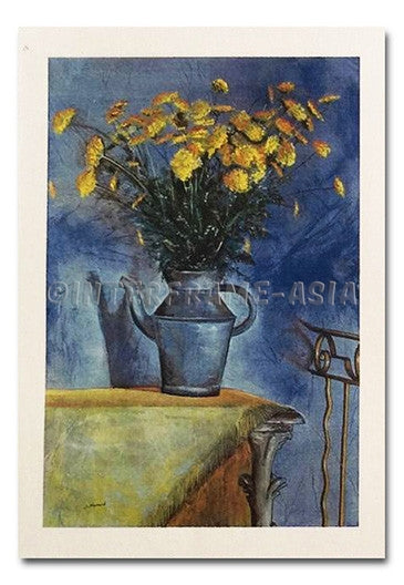 "Poster Art - Joram Neumark ""Yellow Flowers"""