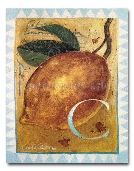 """Citrus Limone Culena"" - Painting On Canvas at INTERFRAME ASIA by Cesare Carra"