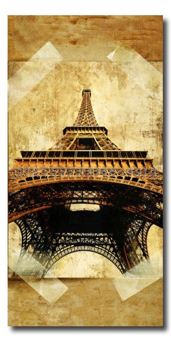 """Eifel Tower"" - Painting On Canvas at INTERFRAME ASIA by Interframe-Asia"
