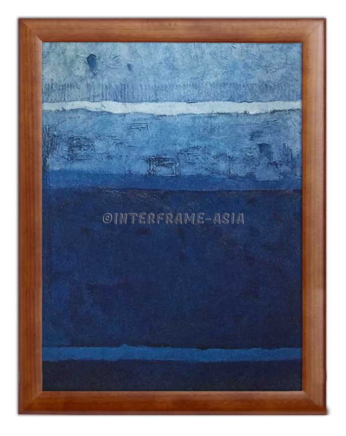 """Blue"" - Painting On Canvas at INTERFRAME ASIA by Salihi Liriya"
