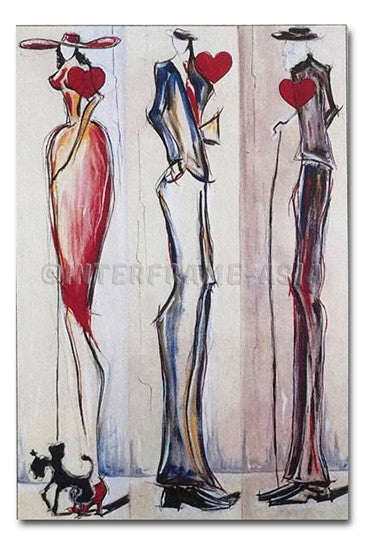 """Fashion I"" - Painting On Canvas at INTERFRAME ASIA by Christopher Lang"