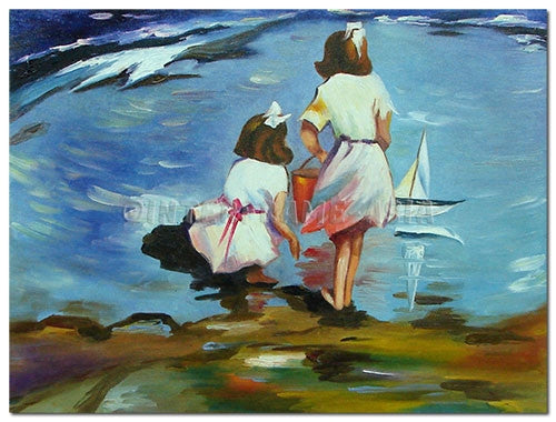 Ladies Sails - Painting On Canvas at INTERFRAME-ASIA