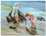 Tide Catching - Painting On Canvas at INTERFRAME-ASIA