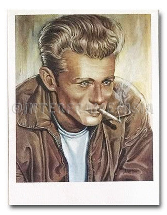 "Poster Art - Christof Beck ""James Dean"""
