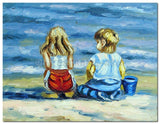 Sea Watching - Painting On Canvas at INTERFRAME-ASIA