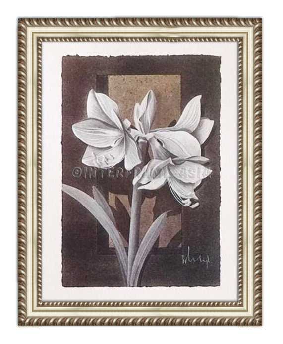 """Amaryllis"" - Painting On Canvas at INTERFRAME ASIA by Franz Heigl"