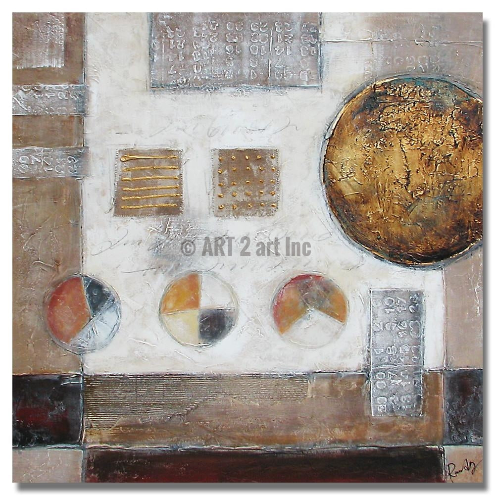 """AB-0443"" - Painting On Canvas at INTERFRAME ASIA by Randy Liu"
