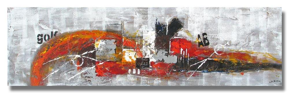 AB-1015 - Painting On Canvas at INTERFRAME-ASIA