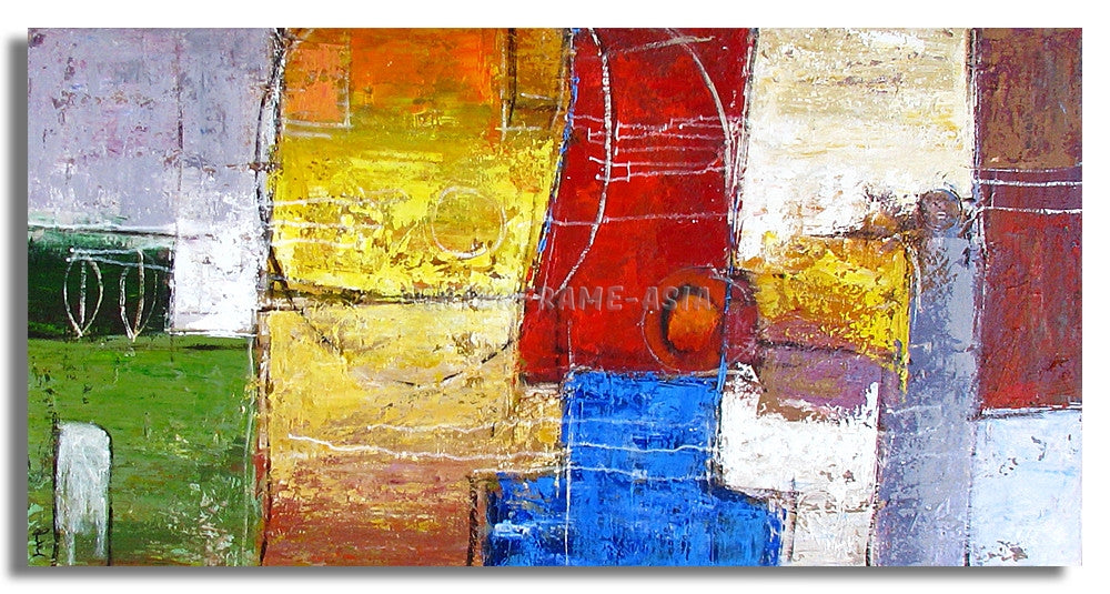AB-1204 - Painting On Canvas at INTERFRAME-ASIA
