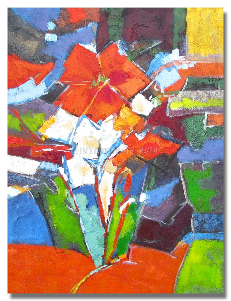 AB-1250 - Painting On Canvas at INTERFRAME-ASIA