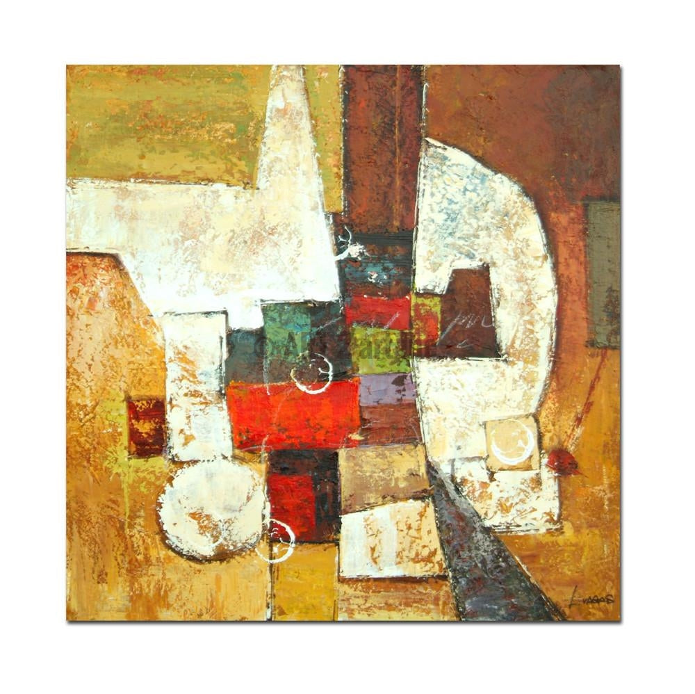 AB-1280 - Painting On Canvas at INTERFRAME-ASIA