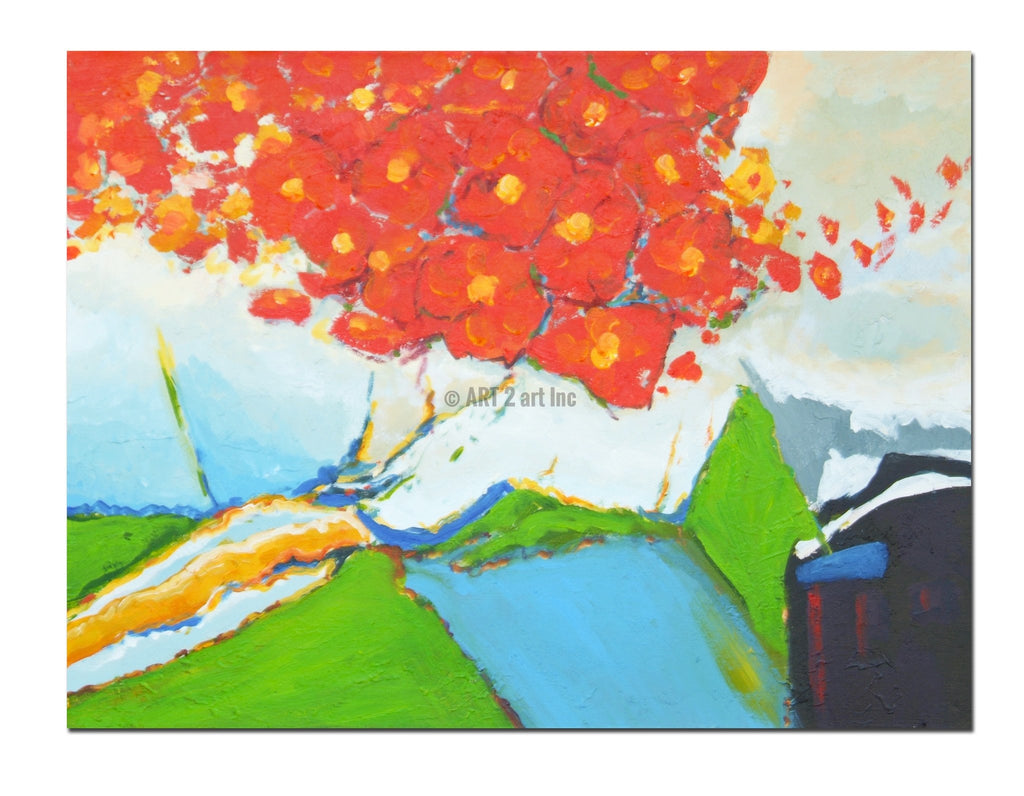 AB-1293 - Painting On Canvas at INTERFRAME-ASIA