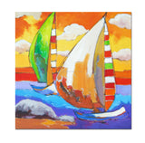AB-1303 - Painting On Canvas at INTERFRAME-ASIA