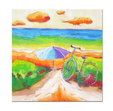 AB-1304 - Painting On Canvas at INTERFRAME-ASIA
