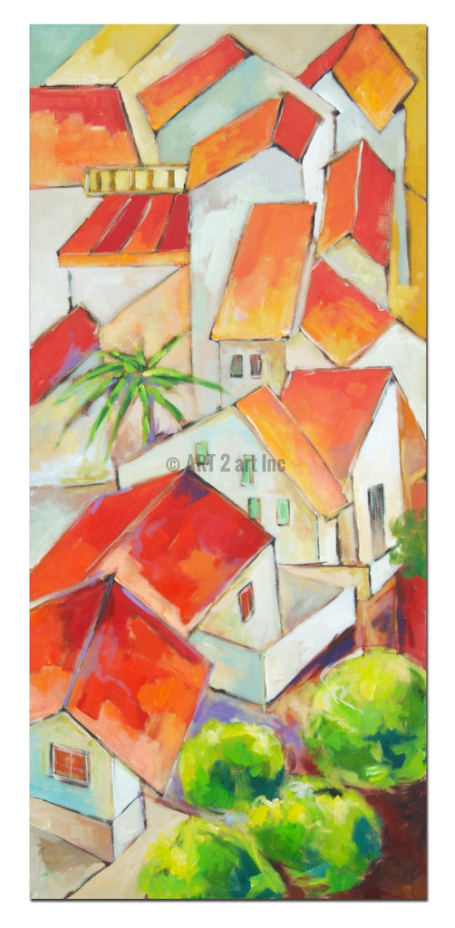 AB-1321 - Painting On Canvas at INTERFRAME-ASIA
