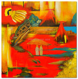 AB-1382 - Painting On Canvas at INTERFRAME-ASIA