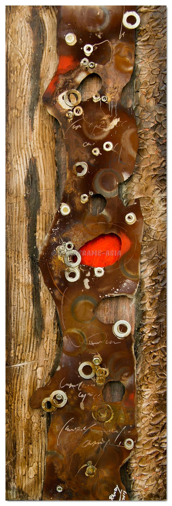 AB-1557 - Wooden Artwork at INTERFRAME-ASIA