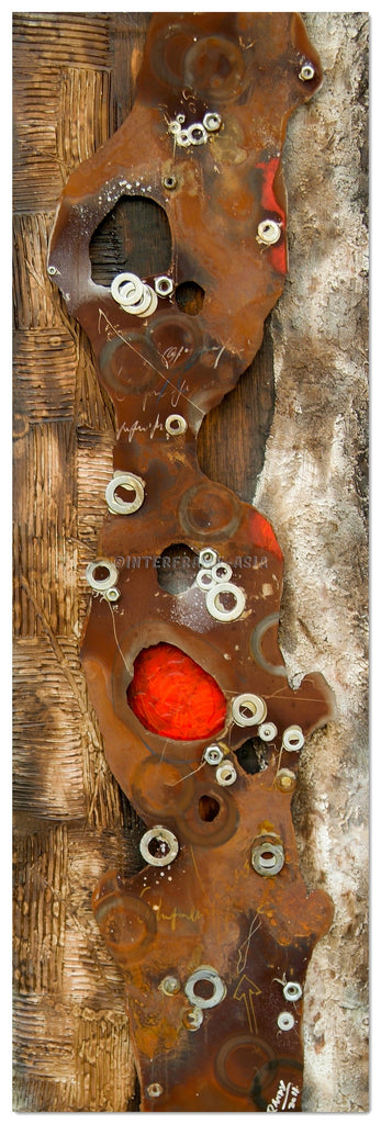 AB-1558 - Wooden Artwork at INTERFRAME-ASIA