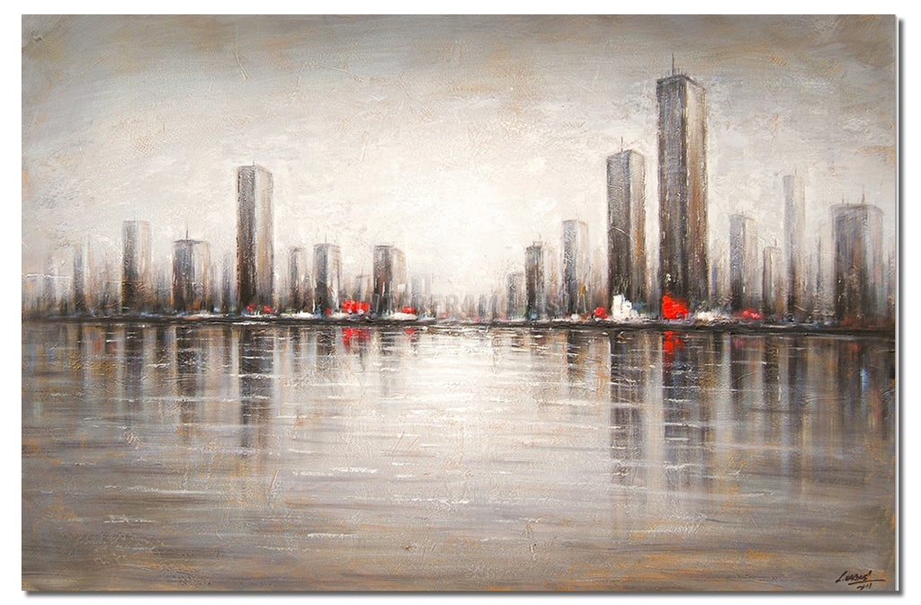 AB-1574 - Painting On Canvas at INTERFRAME-ASIA