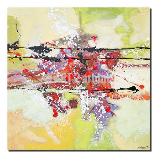 "Original Abstract Painting Art - ""EXPLOTION"" - Painting Arts at INTERFRAME ASIA by INTERFRAME ASIA"