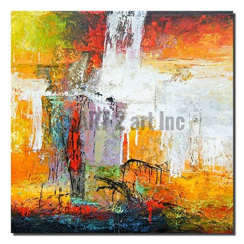 "Original Abstract Painting Art - ""TRACES"" - Painting On Canvas at INTERFRAME ASIA by INTERFRAME ASIA"