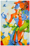 AB-1910 - Painting On Canvas at INTERFRAME-ASIA