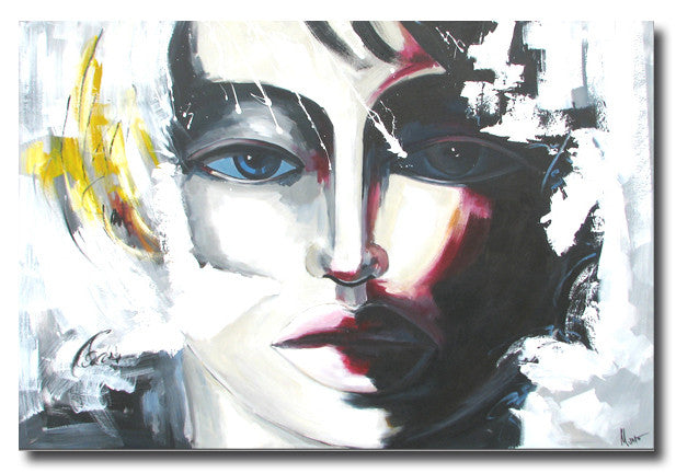 Corazon - Painting On Canvas at INTERFRAME-ASIA