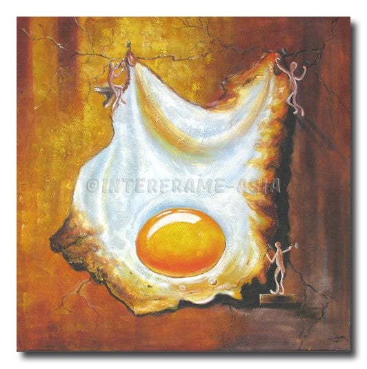 Gum-Gum: Egg Hanger - Painting On Canvas at INTERFRAME-ASIA