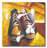 Gum-Gum: Shoes - Painting On Canvas at INTERFRAME-ASIA